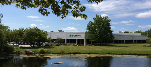 Exterior photo of Domino Building